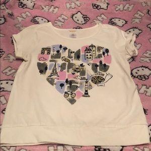 Gymboree Girls Paris Shirt